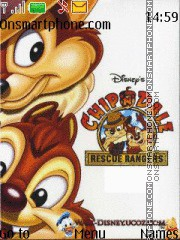 Chip n Dale tema screenshot