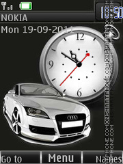 Audi Metallic By ROMB39 theme screenshot