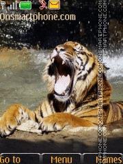 Tiger 45 tema screenshot