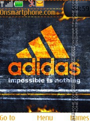 Adidas 54 theme screenshot