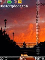 Amazing Sunset theme screenshot