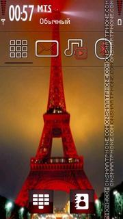 Eiffel Tower 13 theme screenshot