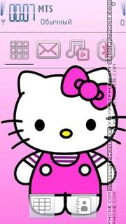 Kitty 13 es el tema de pantalla