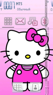 Скриншот темы Kitty 13