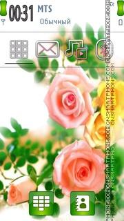 Beautiful Flowers 04 theme screenshot