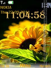Sunflower es el tema de pantalla