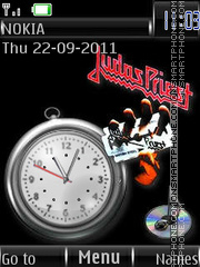 Judas Priest BS By ROMB39 theme screenshot