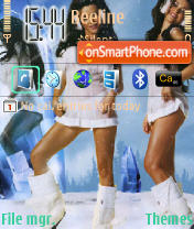 Nastya theme screenshot