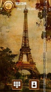 Autumn in Paris Theme-Screenshot