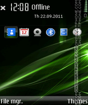 Green Aerials V2 By Xavier theme screenshot