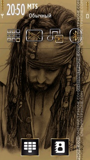 Jack Sparrow 12 tema screenshot