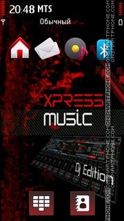 Xpress Music 11 tema screenshot