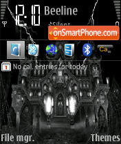 Скриншот темы Mansion