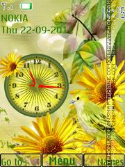 Autumn Starts theme screenshot