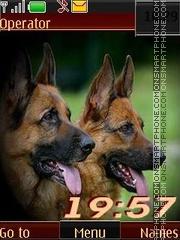 Dogs swf theme screenshot