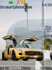 Mercedes_Sls_Amg tema screenshot