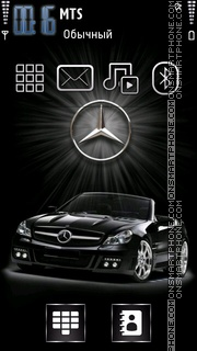 Mercedes Black Theme-Screenshot