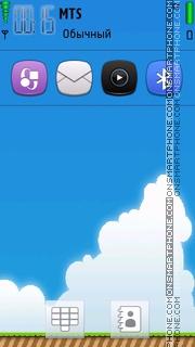 Mario Pop theme screenshot