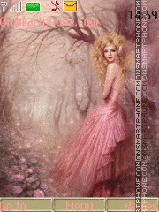 Скриншот темы Forest fairy