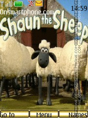 The shaun the shep theme screenshot