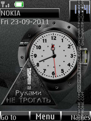 Do not touch By ROMB39 theme screenshot