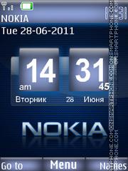 Nokia Classic 01 theme screenshot