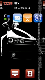 Alfa Romeo 149 theme screenshot