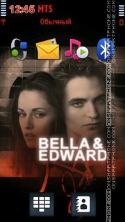 Bella And Edward 01 es el tema de pantalla