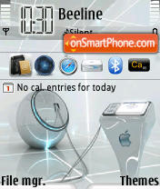 MacSilver tema screenshot
