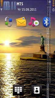 Statue of Liberty 01 theme screenshot