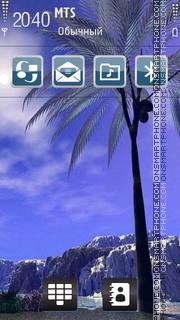 Tropical 03 theme screenshot