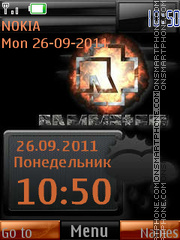 Rammstein By ROMB39 theme screenshot
