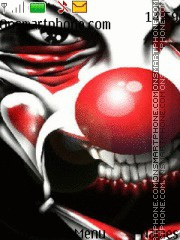 Evil Clown tema screenshot