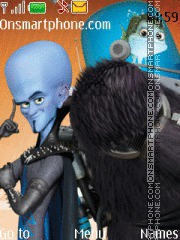 Megamind 01 theme screenshot