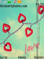 Love 15 tema screenshot