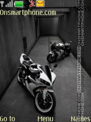 Yamaha R1 2014 theme screenshot