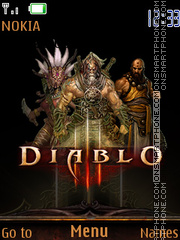 Diablo 3 03 theme screenshot