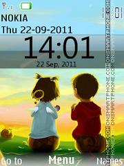 Iphone Love theme screenshot