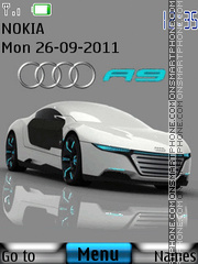 Audi R9 01 theme screenshot