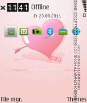 Скриншот темы Heart E-Series