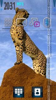 Cheetah 05 theme screenshot