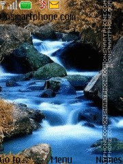 Blue river theme screenshot