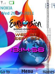 Euro Vision theme screenshot