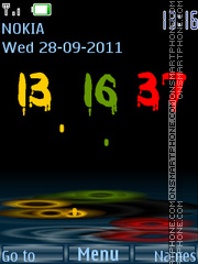 Good clock theme screenshot