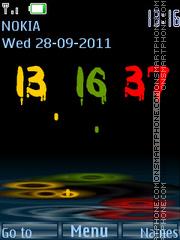 Good clock es el tema de pantalla