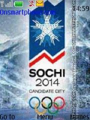 Sochi 2014 theme screenshot