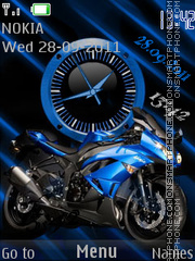Moto theme screenshot