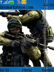 Counter strike source es el tema de pantalla