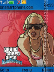 GTA San Andreas theme screenshot