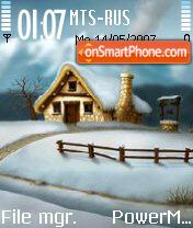Winter 2 01 es el tema de pantalla